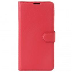 """""""Litchi"""" atverčiamas dėklas - raudonas (Nokia 3)"""
