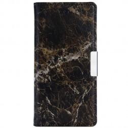 """""""Marble"""" atverčiamas dėklas - rudas (Nokia 3)"""