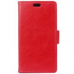 Atverčiamas dėklas, knygutė - raudonas (Nokia 3)