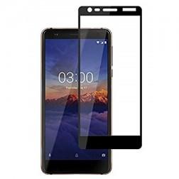 """""""Imak"""" Tempered Glass pilnai dengiantis apsauginis ekrano stiklas 0.2 mm - juodas (Nokia 3.1 2018)"""