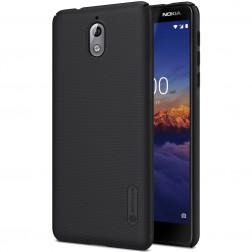 """""""Nillkin"""" Frosted Shield dėklas - juodas (Nokia 3.1 2018)"""