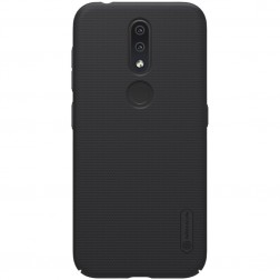 """""""Nillkin"""" Frosted Shield dėklas - juodas (Nokia 4.2)"""