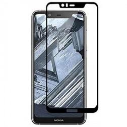 """""""Imak"""" Tempered Glass pilnai dengiantis apsauginis ekrano stiklas 0.2 mm - juodas (Nokia 5.1 Plus 2018)"""