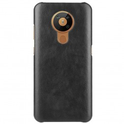 Slim Leather dėklas - juodas (Nokia 5.3)
