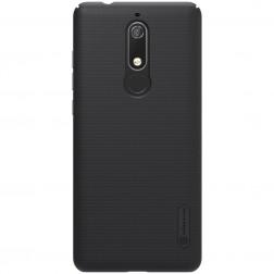 """""""Nillkin"""" Frosted Shield dėklas - juodas (Nokia 5.1 2018)"""