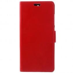 Atverčiamas dėklas, knygutė - raudonas (Nokia 5.1 2018)