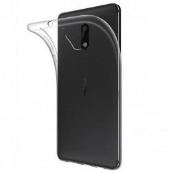 Kieto silikono (TPU) dėklas - skaidrus (Nokia 5.1 2018)
