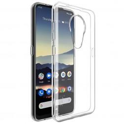 Kieto silikono (TPU) dėklas - skaidrus (Nokia 7.2 / Nokia 6.2)