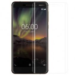 """""""Imak"""" apsauginė ekrano plėvelė (pilnai dengianti) - skaidri (Nokia 6 2018)"""
