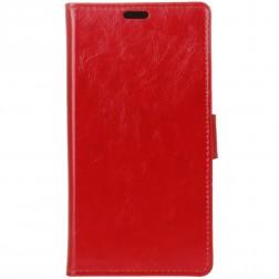 Atverčiamas dėklas, knygutė - raudonas (Nokia 6 2018 / Nokia 6.1)