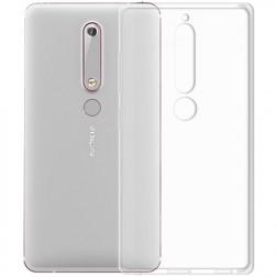 Ploniausias TPU dėklas - skaidrus (Nokia 6 2018 / Nokia 6.1)