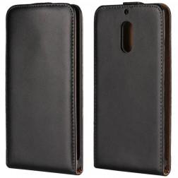 Klasikinis atverčiamas dėklas - juodas (Nokia 6)