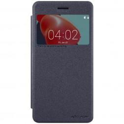 """""""Nillkin"""" Sparkle atverčiamas dėklas - pilkas (Nokia 6)"""