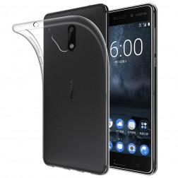 Ploniausias TPU dėklas - skaidrus (Nokia 6)
