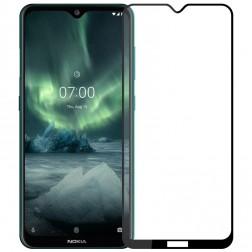 """""""Hat-Prince"""" Tempered Glass apsauginis ekrano stiklas 0.26 mm - juodas (Nokia 7.2 / Nokia 6.2)"""