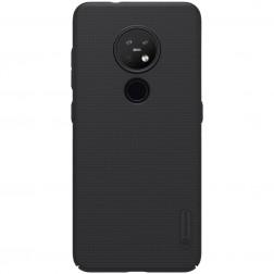 """""""Nillkin"""" Frosted Shield dėklas - juodas (Nokia 7.2 / Nokia 6.2)"""