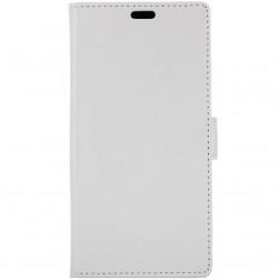 Atverčiamas dėklas, knygutė - baltas (Nokia 7 Plus)