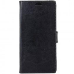 Atverčiamas dėklas, knygutė - juodas (Nokia 7 Plus)