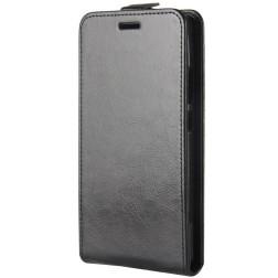 Klasikinis atverčiamas dėklas - juodas (Nokia 7 Plus)