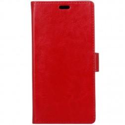 Atverčiamas dėklas, knygutė - raudonas (Nokia 7 Plus)