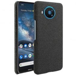 """""""Fashion"""" kieto silikono (TPU) dėklas - juodas (Nokia 8.3)"""