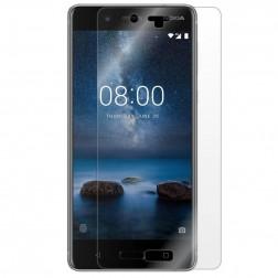 """""""Imak"""" apsauginių ekrano plėvelių (pilnai dengiančių) komplektas - skaidrios (Nokia 8)"""
