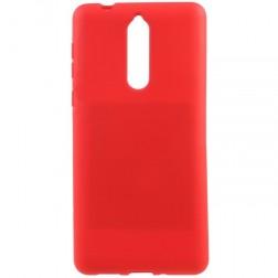 """""""Mercury"""" Soft dėklas - raudonas (Nokia 8)"""