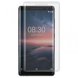 """""""Calans"""" Tempered Glass pilnai dengiantis apsauginis ekrano stiklas 0.2 mm - skaidrus (Nokia 8 Sirocco)"""