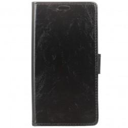 Atverčiamas dėklas, knygutė - juodas (Nokia 8 Sirocco)