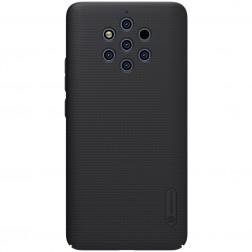 """""""Nillkin"""" Frosted Shield dėklas - juodas (Nokia 9 PureView)"""