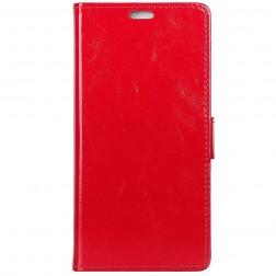 Atverčiamas dėklas, knygutė - raudonas (Nokia 9 PureView)