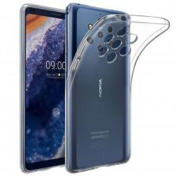 Kieto silikono (TPU) dėklas - skaidrus (Nokia 9 PureView)