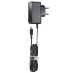 """""""Nokia"""" sieninis įkroviklis su micro USB laidu - juodas"""