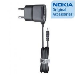 """""""Nokia"""" sieninis įkroviklis su laidu (2 mm.) - juodas"""