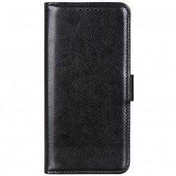 Atverčiamas dėklas - juodas (Nokia C10 / C20)