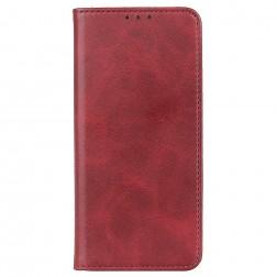 """""""Split"""" atverčiamas dėklas - raudonas (Nokia C10 / C20)"""