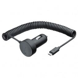 """""""Nokia"""" automobilinis įkroviklis - juodas (1 A)"""