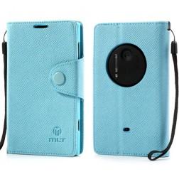 """""""MLT"""" atverčiamas dėklas - šviesiai mėlynas (Lumia 1020)"""
