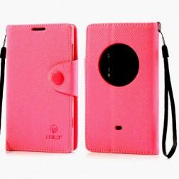 """""""MLT"""" atverčiamas dėklas - rožinis (Lumia 1020)"""