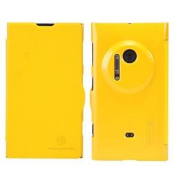 """""""Nillkin"""" Fresh atverčiamas dėklas - geltonas (Lumia 1020)"""