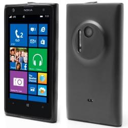"""""""Jelly Case"""" dėklas - matinis, tamsintas (Lumia 1020)"""