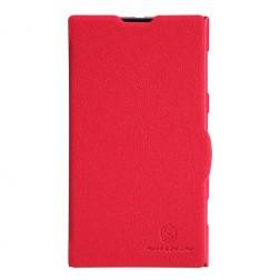 """""""Nillkin"""" Fresh atverčiamas dėklas - raudonas (Lumia 1020)"""