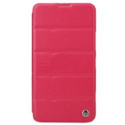 """""""ROCK"""" Excel atverčiamas dėklas - rožinis (Lumia 1320)"""