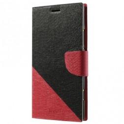 """""""Double"""" atverčiamas dėklas - raudonas (Lumia 1520)"""