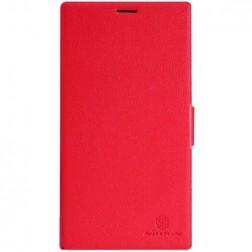 """""""Nillkin"""" Fresh atverčiamas dėklas - raudonas (Lumia 1520)"""