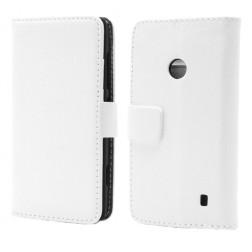 Atverčiamas dėklas, piniginė - baltas (Lumia 520)