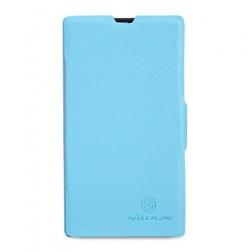 """""""Nillkin"""" Fresh atverčiamas dėklas - mėlynas (Lumia 520)"""