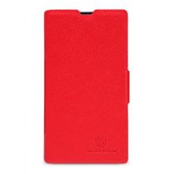 """""""Nillkin"""" Fresh atverčiamas dėklas - raudonas (Lumia 520)"""