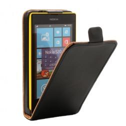 Atverčiamas dėklas - juodas (Lumia 520)