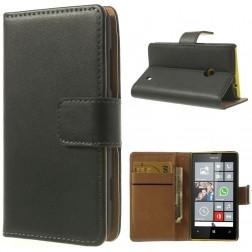 Atverčiamas dėklas, piniginė - juodas (Lumia 520)